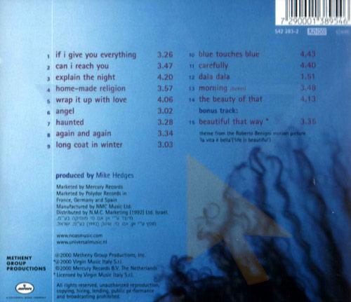 Blue Touches Blue - Achinoam Nini (Noa)