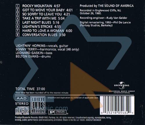 Last Night Blues by Lightnin' Hopkins