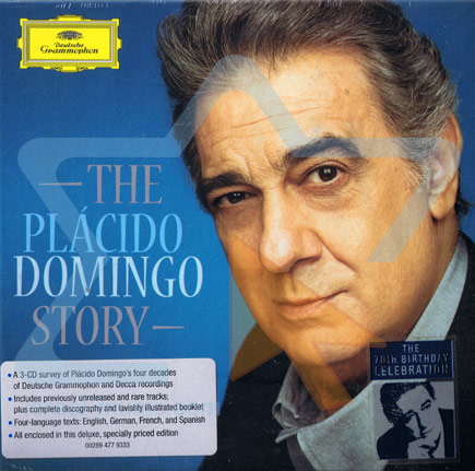 The Placido Domingo Story by Placido Domingo