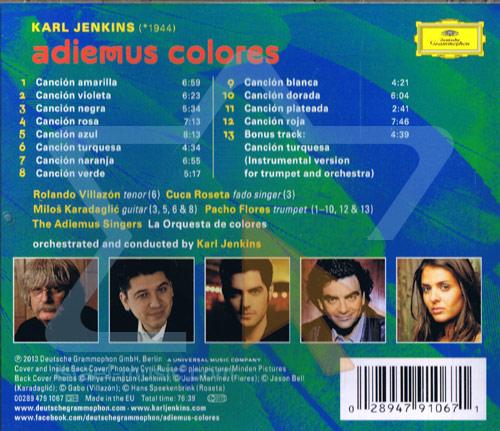Adiemus Colores by Karl Jenkins