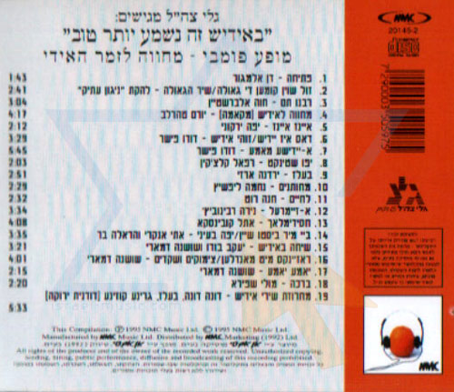 In Yiddish It's Sounds Better by Various