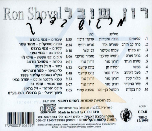Feeling on the Way by Ron Shoval