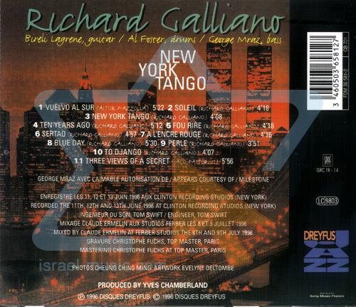 New York Tango by Richard Galliano
