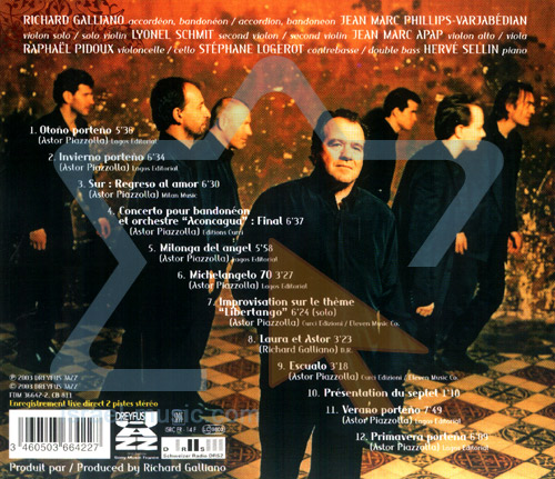 Piazzolla Forever by Richard Galliano