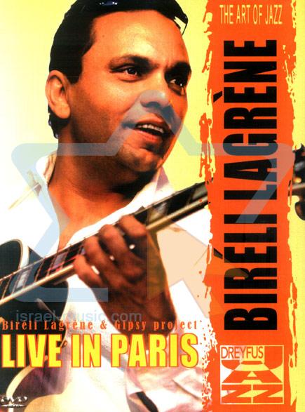 Live in Paris by Bireli Lagrene