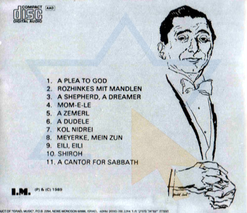 Sings Hebrew Melodies - Jan Peerce