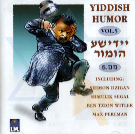 Yiddish Humor Vol. 5 Par Various