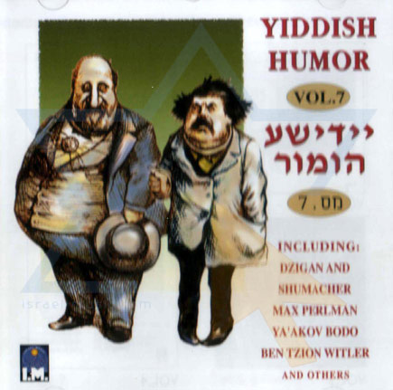 Yiddish Humor Vol.7 Par Various