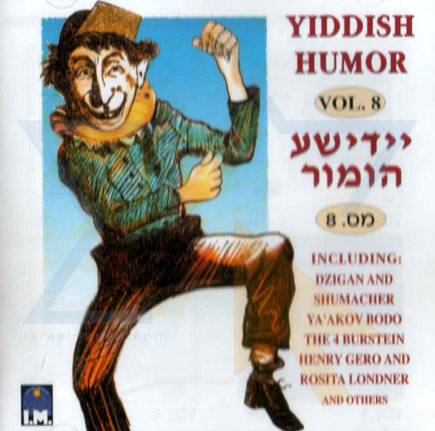 Yiddish Humor Vol.8 Por Various