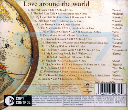 Love Around the World by André Rieu