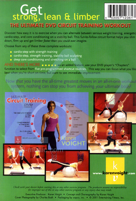 Ultimate Circuit Training Par Karen Voight