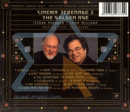 Cinema Serenade 2 - The Golden Age by Itzhak Perlman
