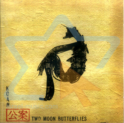 Two Moon Butterflies by Koan