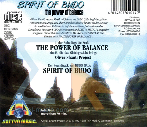 Spirit of Budo - The Power of Balance by Oliver Shanti