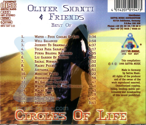 Best of Oliver Shanti and Friends - Circles of Life Von Oliver Shanti