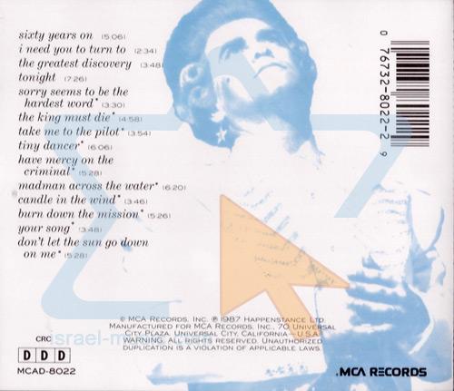 Live in Australia by Elton John