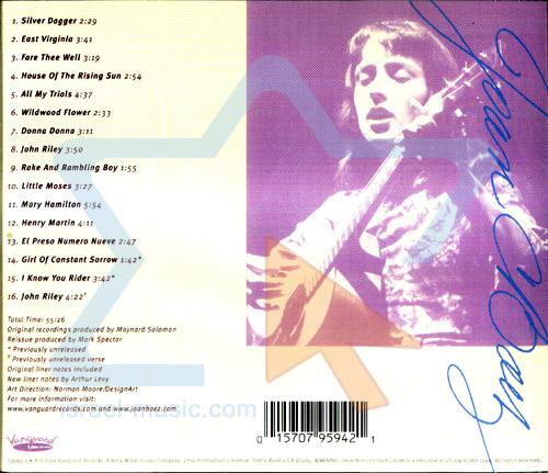 Joan Baez by Joan Baez
