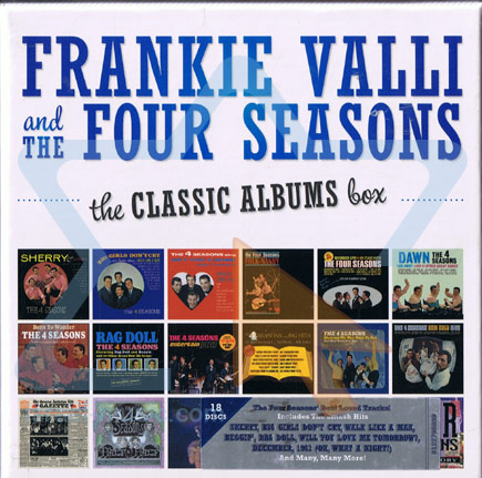 The Classic Albums Box by Frankie Valli and the Four Seasons