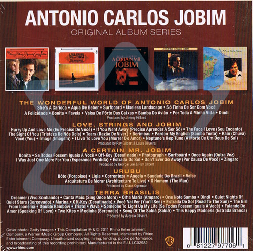 Original Album Series by Antonio Carlos Jobim