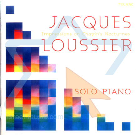 Impressions on Chopin's Nocturnes के द्वारा Jacques Loussier