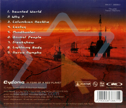 In Fear of a Red Planet by Cydonia