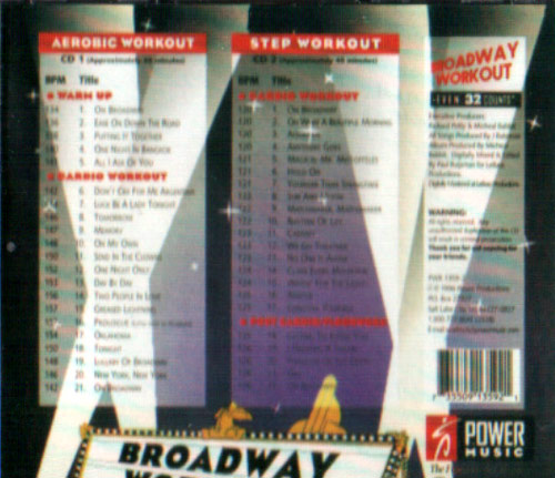 Volume 01 by Broadway Workout