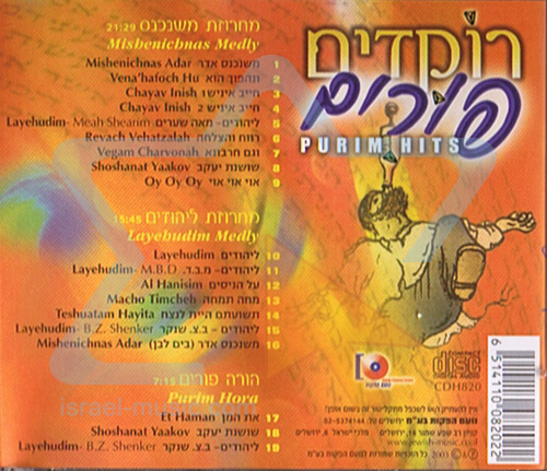 Purim Hits by Amit Sofer's Band