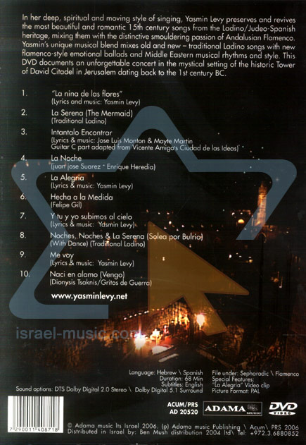Live at the Tower of David, Jerusalem Par Yasmin Levy