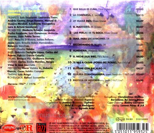 Jazzcuba - Vol. 10 by Orquestra Cubana de Musica Moderna