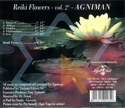 Reiki Flowers Vol. 2 by Agniman