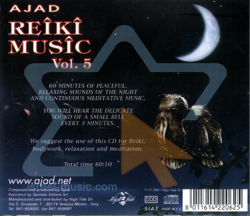 Reiki Music Vol. 5 - Night of Love by Ajad