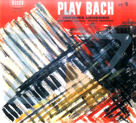 Play Bach - Vol. 1 by Jacques Loussier