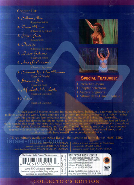The Passion Of Belly Dance - Aziza Raks