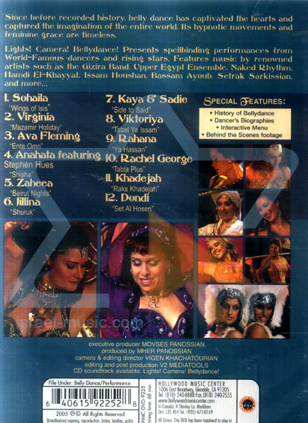 Lights, camera, Bellydance by Various
