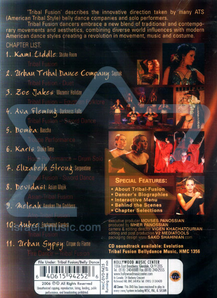 Evolution - Tribal Fusion Bellydance Performances - Various