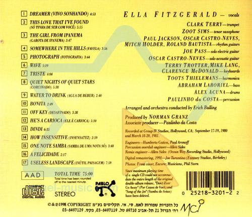 Ella Sings Jobim by Ella Fitzgerald