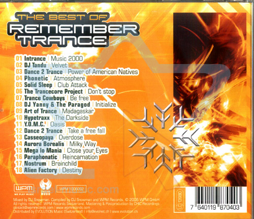 The Best of Remember Trance - Phase 3 by Various