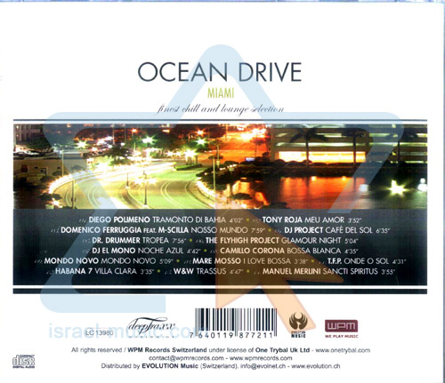 Just Lounge - Ocean Drive Miami by Various