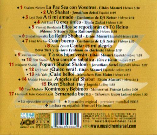 Cantos de Shabat Por Various