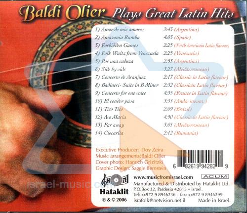 Plays Great Latin Hits - Baldi Ollier