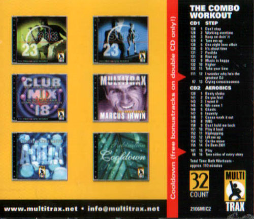 The Combo Workout Volume 01 by Marcus Irwin