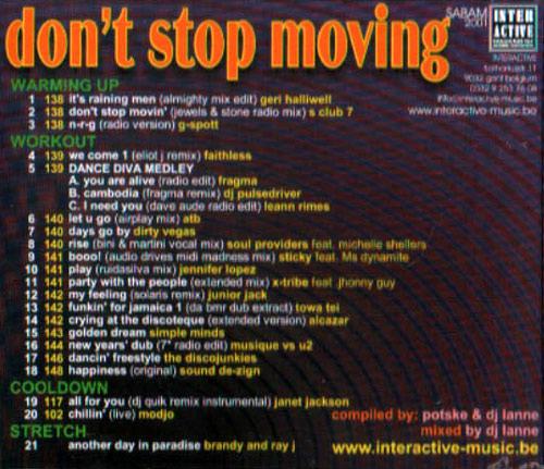 Don't Stop Moving by Hi Lo
