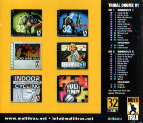 Volume 01 by Tribal Drumz