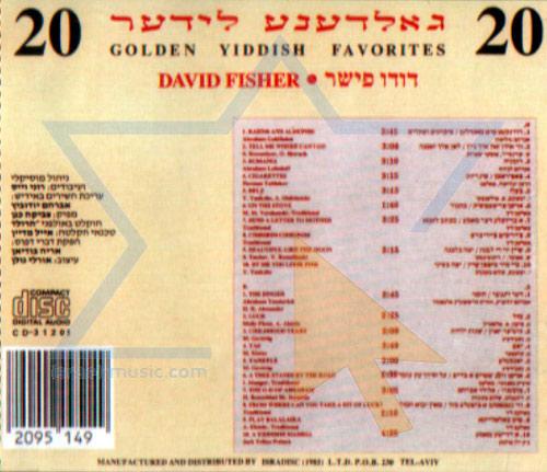 Golden Yiddish Favorites by David (Dudu) Fisher