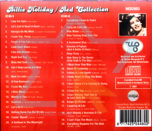 Red Collection के द्वारा Billie Holiday