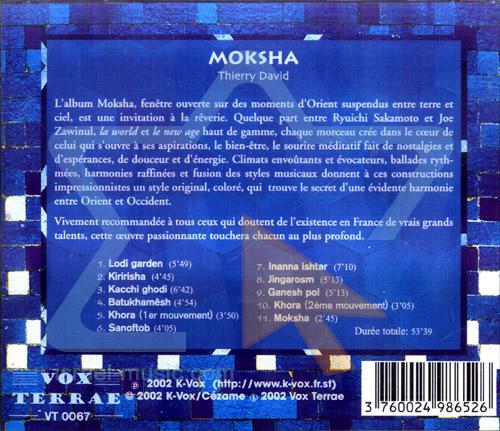 Moksha by Thierry David