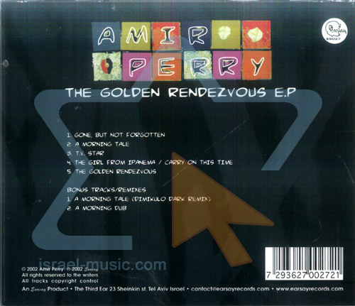 The Golden Rendezvous E.P by Amir Perry