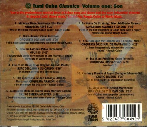 Cuba Classics Vol. 1 - Son by Various