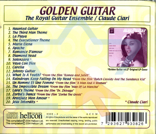 Golden Guitar by Various