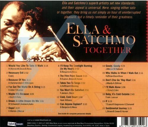 Ella & Satchmo Together by Ella Fitzgerald